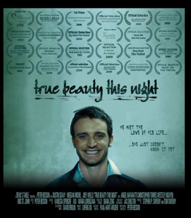 "Poster for ""True Beauty This Night""."