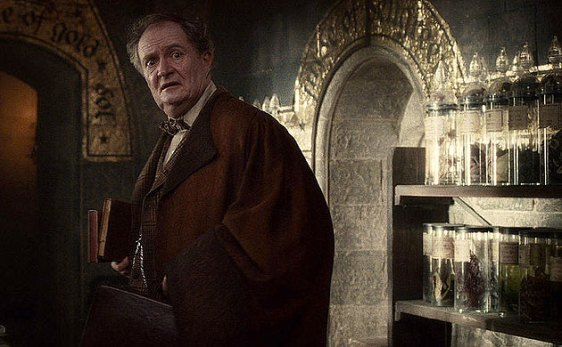 "Jim Broadbent in ""Harry Potter and the Half-Blood Prince"""