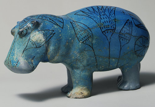 Egyptian Blue Hippo