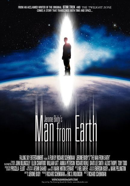 "Poster for ""The Man From Earth"""