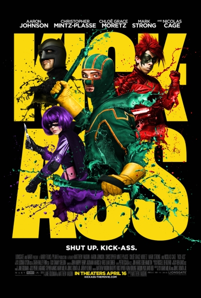 "Poster for ""Kick-Ass""."