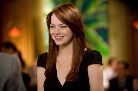 Emma Stone in Crazy, Stupid, Love.