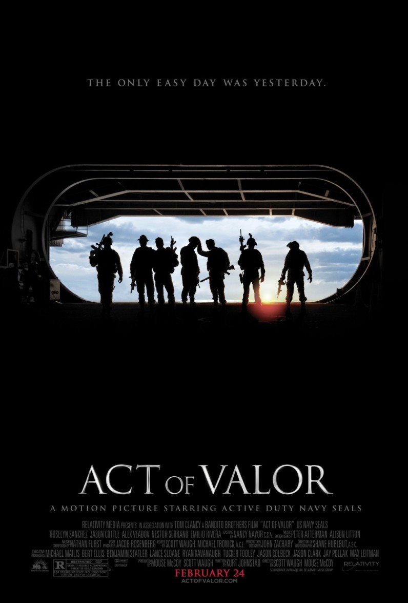 "Poster for ""Act of Valor"""