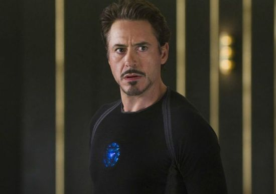 "Robert Downey, Jr. in ""The Avengers"""