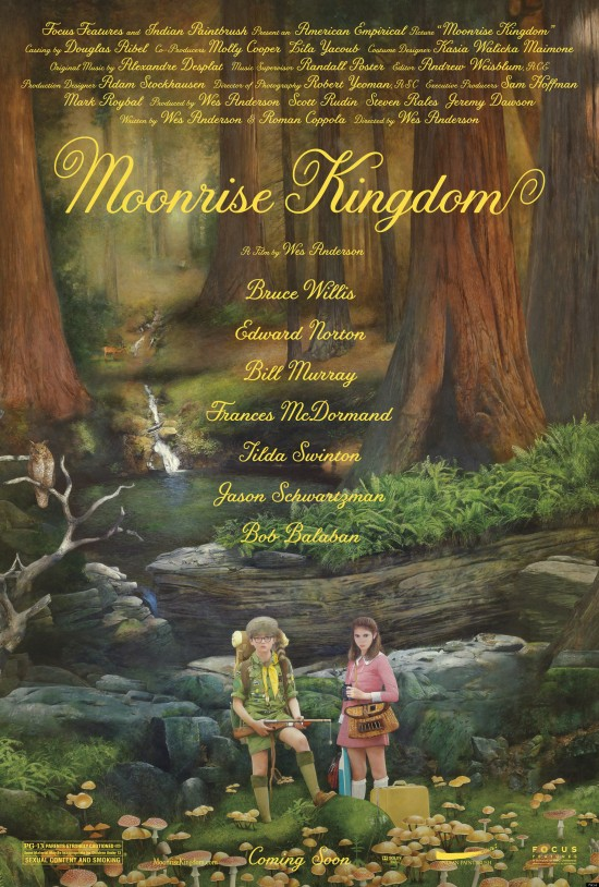 "Poster for ""Moonrise Kingdom"""