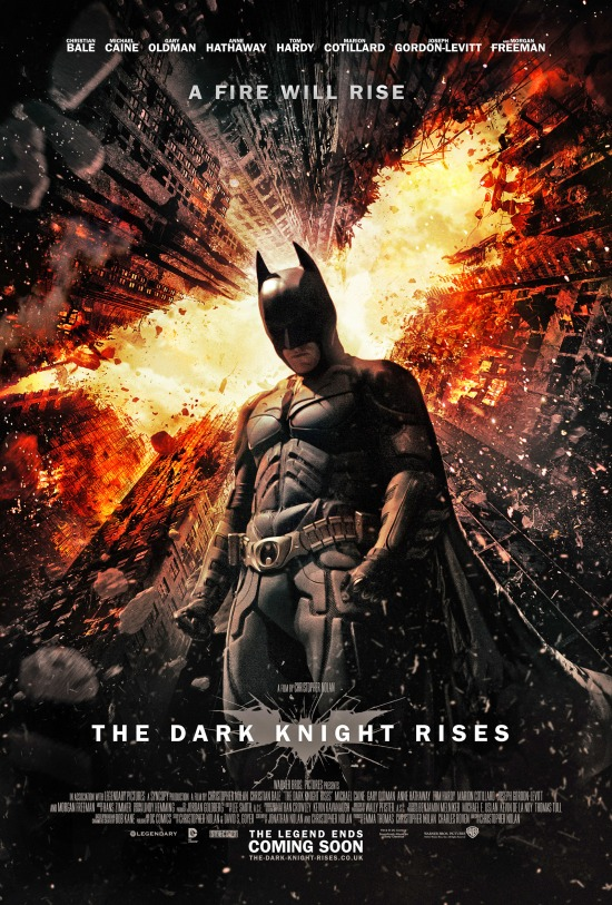 "Poster for ""The Dark Knight Rises"""