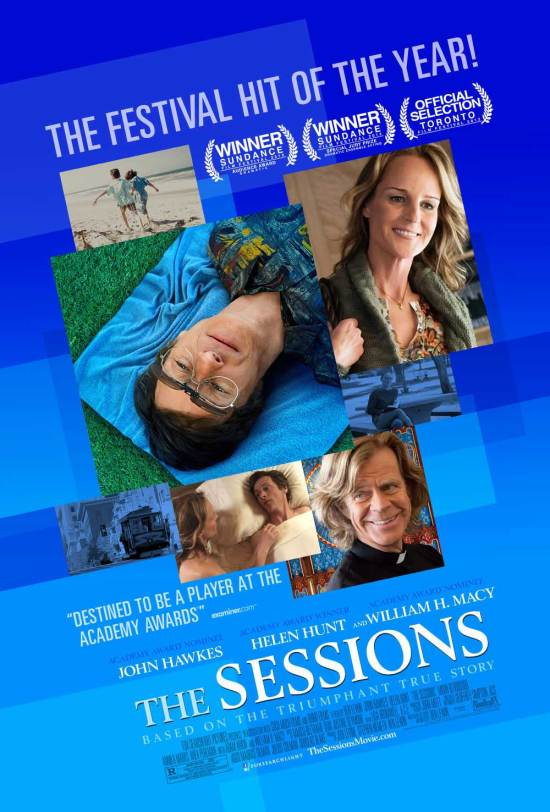 "Poster for ""The Sessions"""