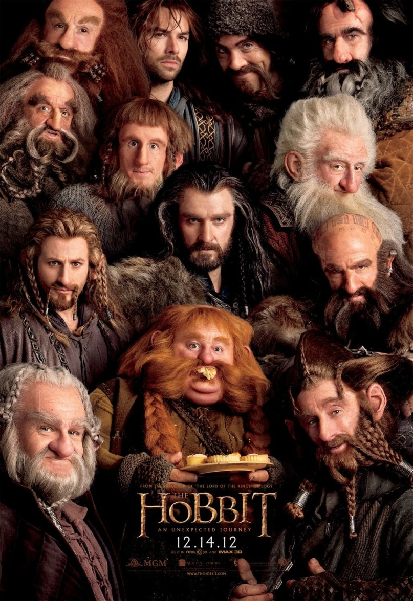 "Poster for ""The Hobbit: An Unexpected Journey"""