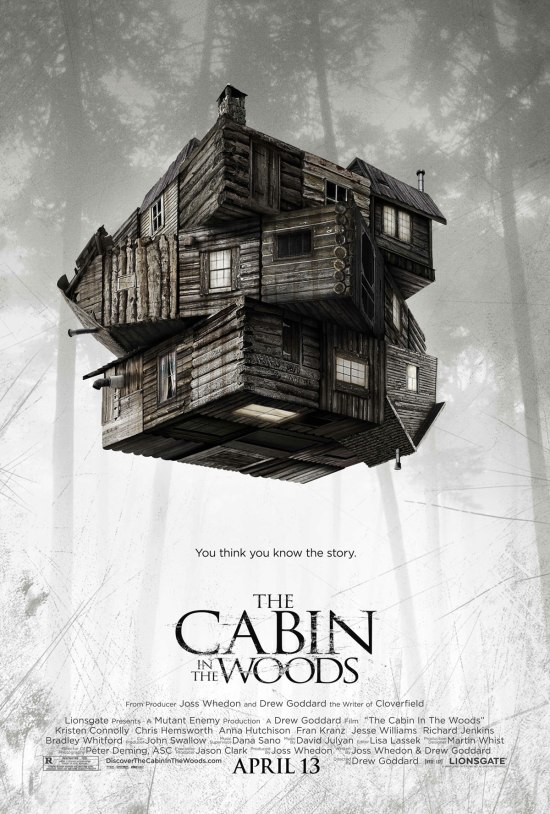 "Poster for ""The Cabin in the Woods"""