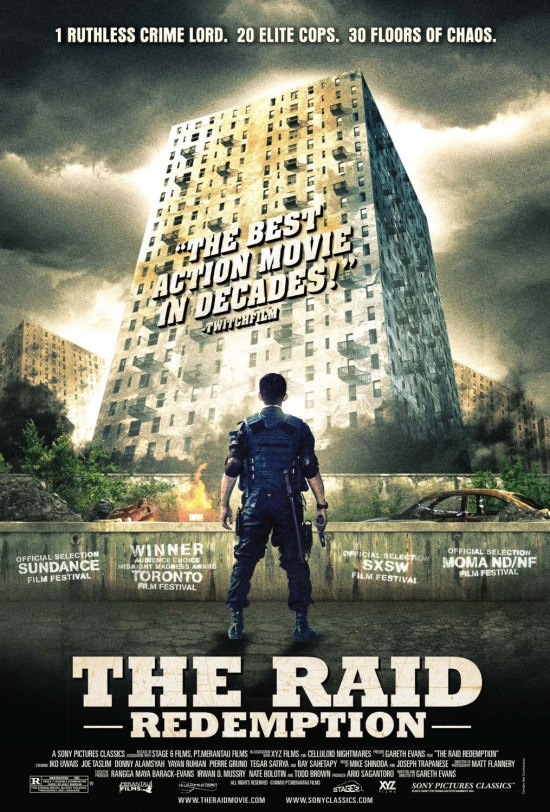"Poster for ""The Raid: Redemption"""