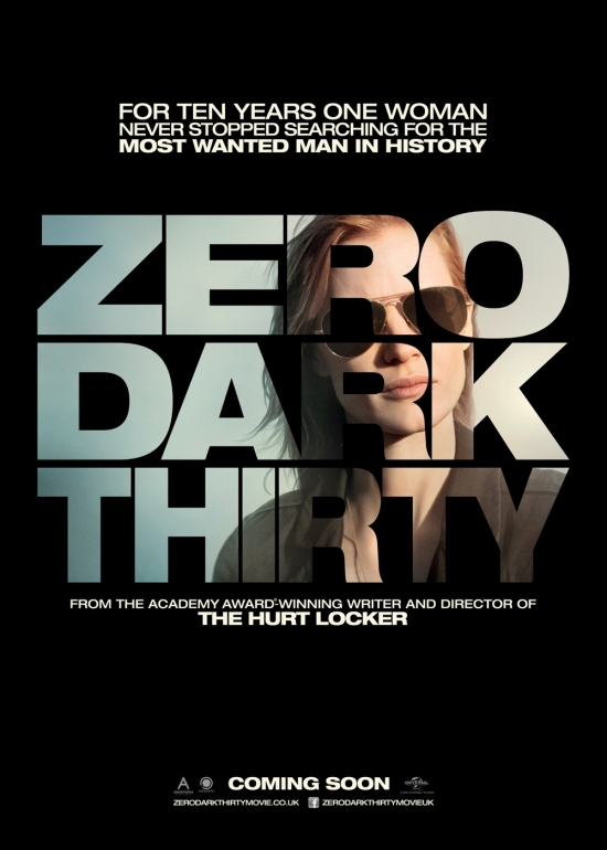 "Poster for ""Zero Dark Thirty"""