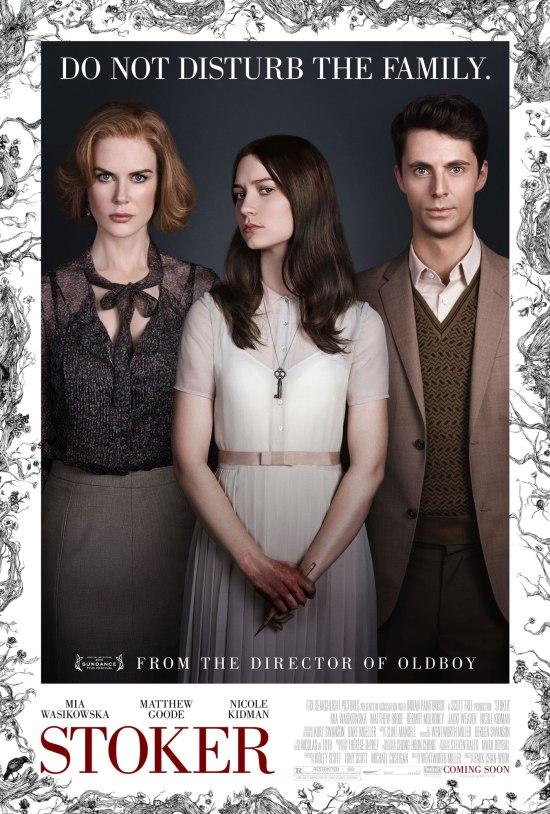 """Poster for """"Stoker"""""""