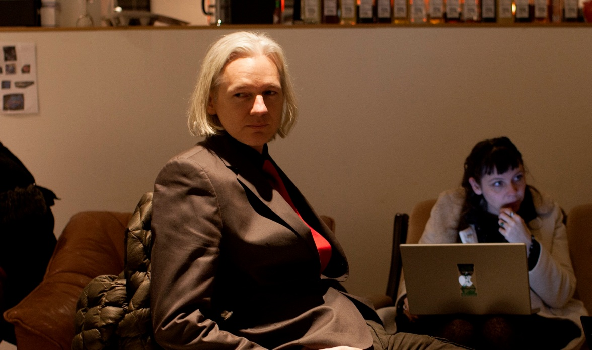 "Still from ""We Steal Secrets: The Story of WikiLeaks"""