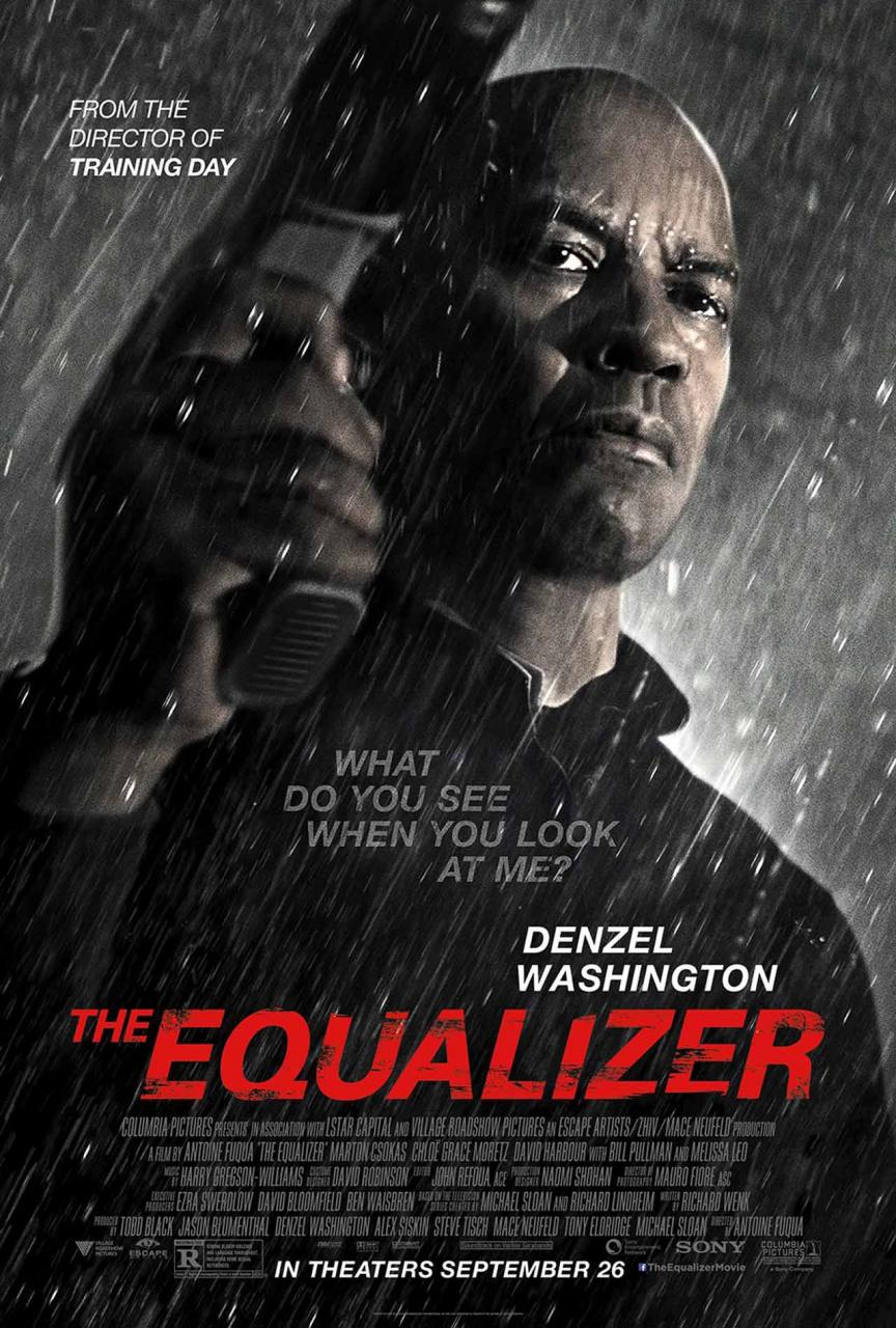 """Poster for """"The Equalizer"""""""