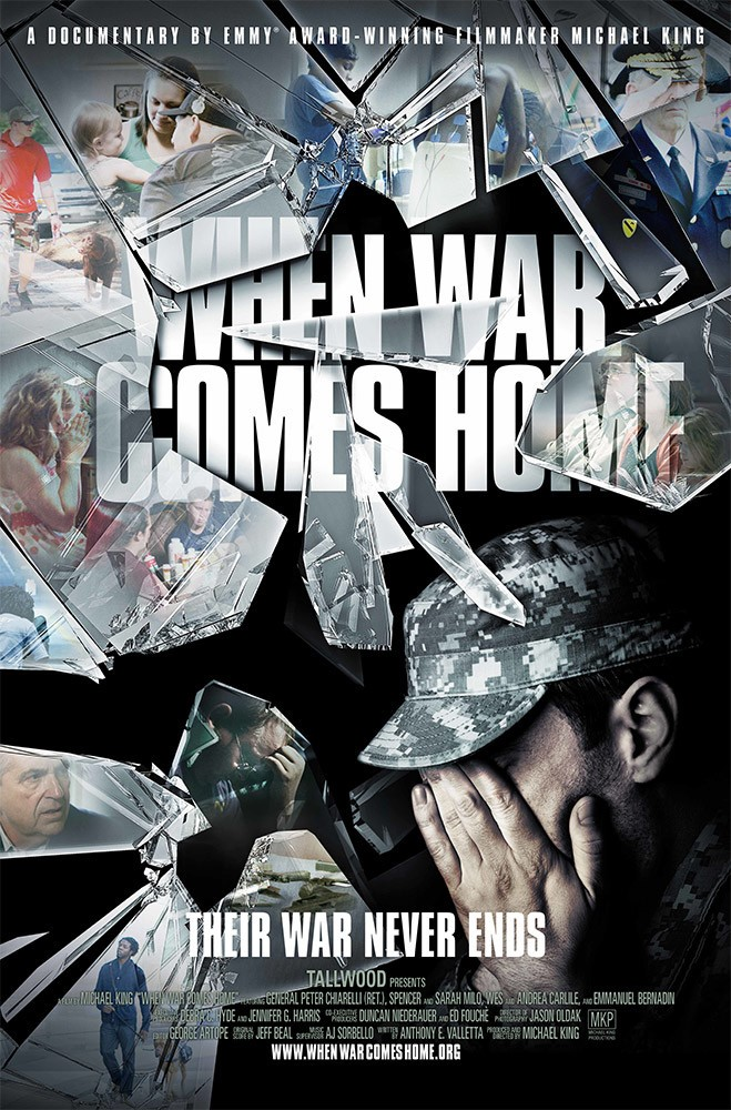 "Poster for ""When War Comes Home"""