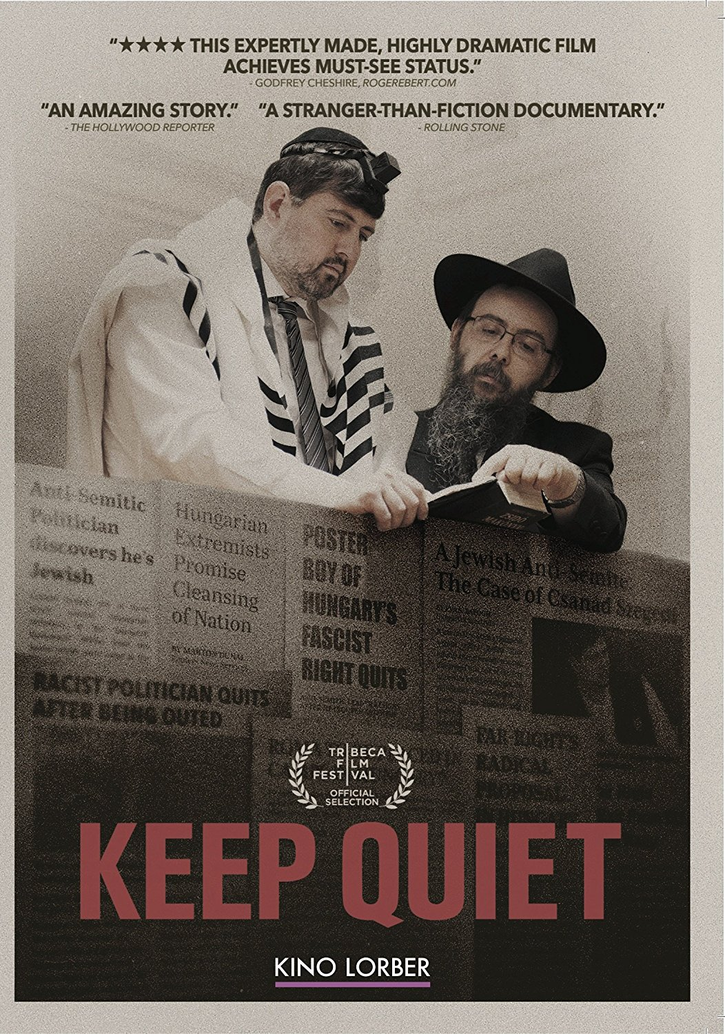 "Poster for ""Keep Quiet"""