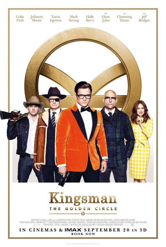 "Poster for ""Kingsman: The Golden Circle"""
