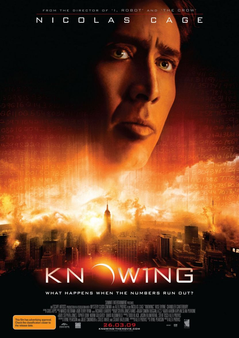 "Poster for ""Knowing"" (2009 film)"