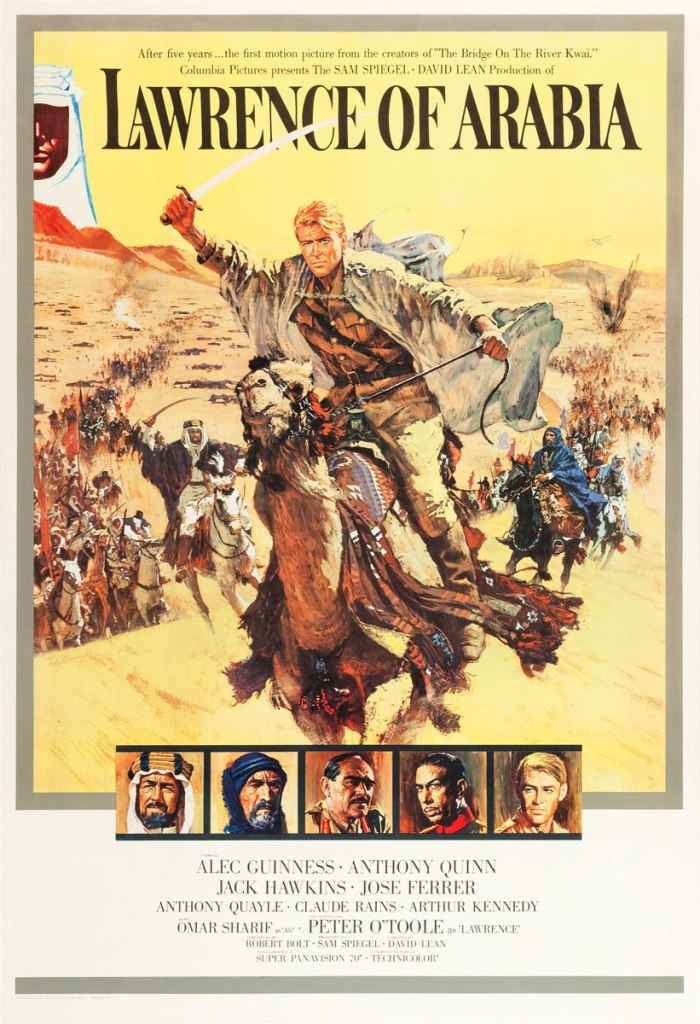 "Poster for ""Lawrence of Arabia"""